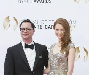Darby Stanchfield et Joshua Malina lors du Festival de télévision de Monte Carlo en juin 2013