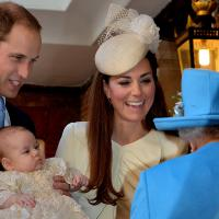 Kate Middleton : Prince George, roi des animaux pour son baptême