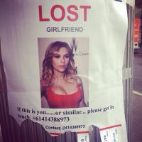 Scarlett Johansson perdue en Australie : l'avis de recherche délirant