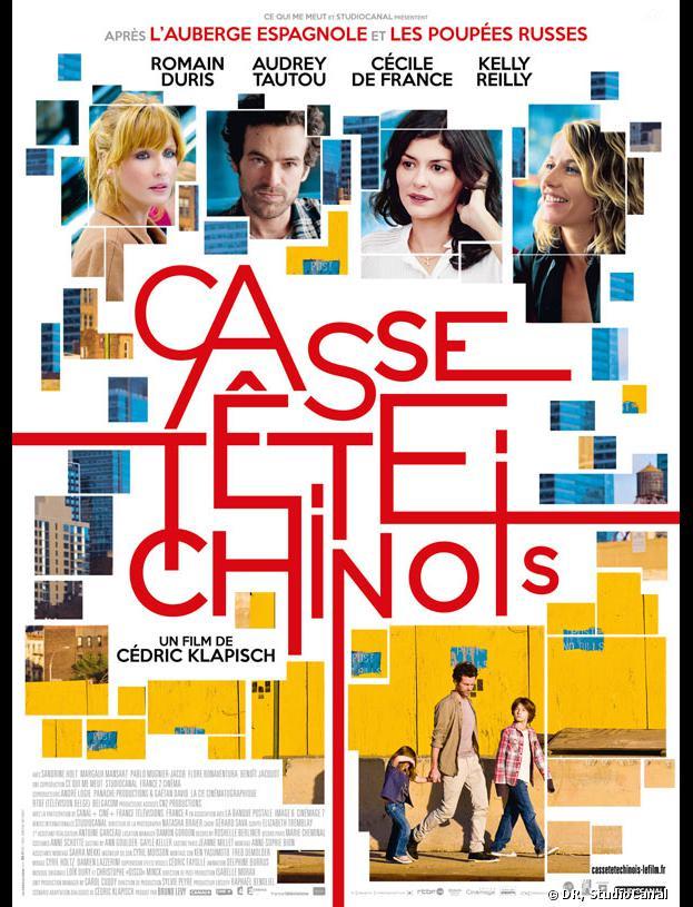 Casse-Tête Chinois avec Romain Duris, Cécile de France et Audrey Tautou