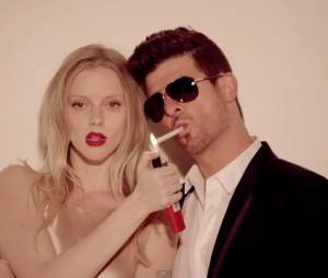 Robin Thicke : Blurred Lines est l'un des clips les plus vus de 2013 selon VEVO