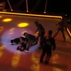 Merwan Rim (Ice Show) : son énorme chute avant la finale