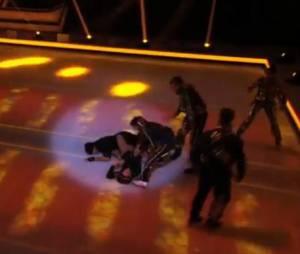 Ice Show : la chute de Merwan Rim pendant les répétitions