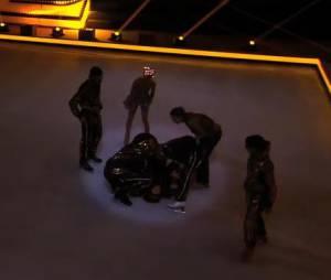 Ice Show : la chute de Merwan Rim et de sa danseuse pendant les répétitions