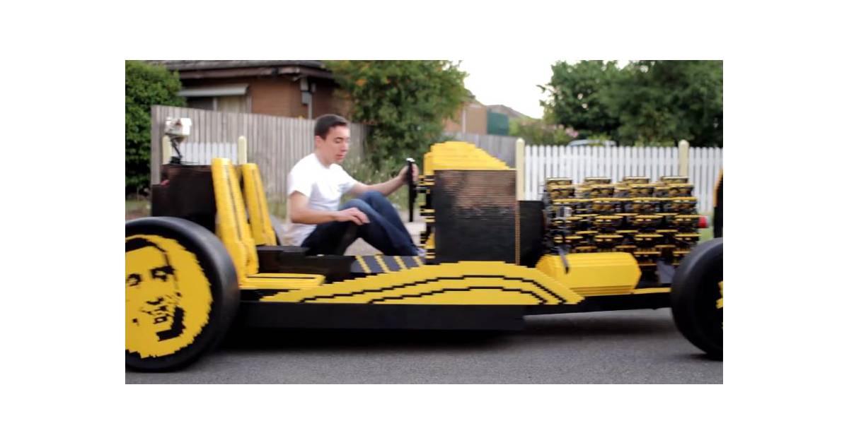 500 000 pi ces pour construire une vraie voiture en for Construire sa voiture