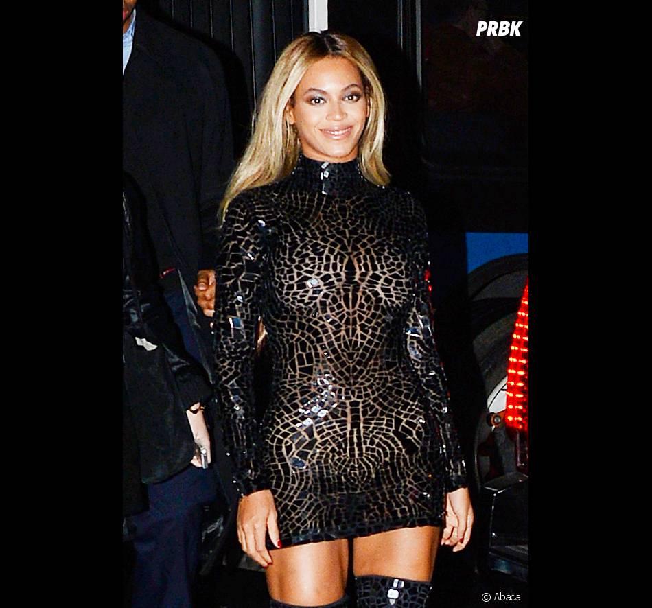 Beyoncé fête la sortie de son nouvel album à New York le 21 décembre 2013
