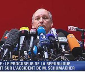 Michael Schumacher : le procureur de la République d'Albertville fait le point sur son accident