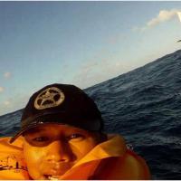 L'improbable selfie après... un crash d'avion