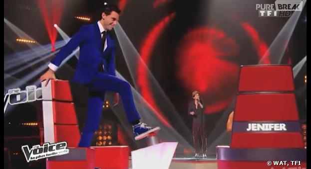 The Voice 3 : Mika a buzzé Igit du pied