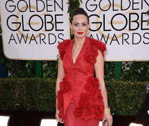 Bérénice Bejo sur le tapis rouge des Golden Globes 2014