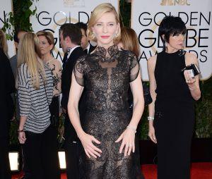 Cate Blanchett sur le tapis rouge des Golden Globes 2014