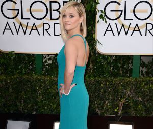 Reese Witherspoon sur le tapis rouge des Golden Globes 2014
