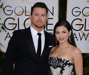 Channing Tatum et Jenna Dewan Tatum aux Golden Globes 2014