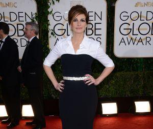 Julia Roberts sur le tapis rouge des Golden Globes 2014