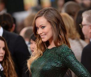 Olivia Wilde sur le tapis rouge des Golden Globes 2014