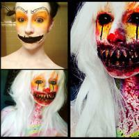 [PHOTOS] Impressionnant : les transformations colorées et effrayantes d'une artiste du maquillage
