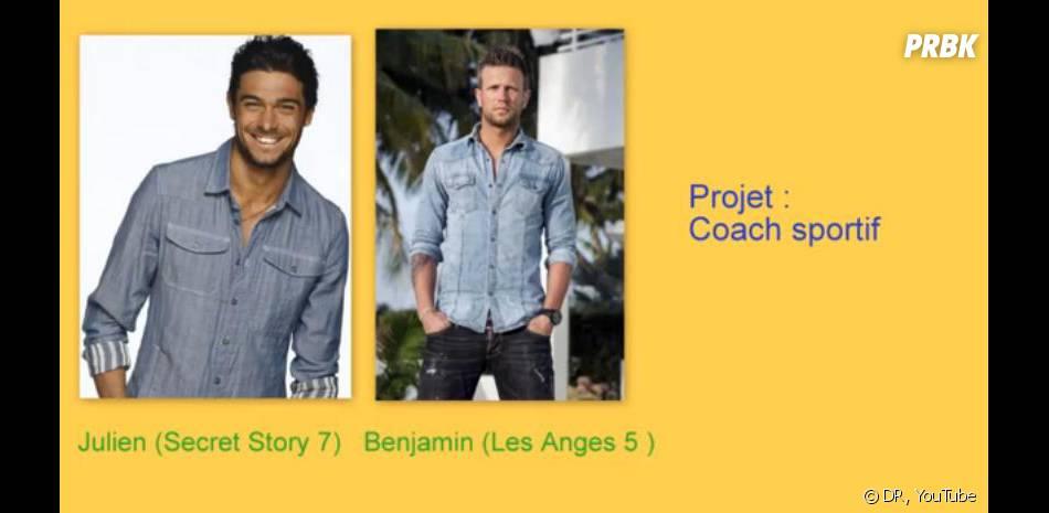 Les Anges 6 : Benjamin et Julien coach sportif en duo ?