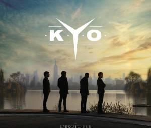 """Kyo : la pochette de leur album """"L'Equilibre"""", disponible le 24 mars 2014"""