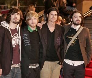 Kyo : Fabien Dubos, Benoît Poher, Nicolas Chassagne et Florian Dubos aux NRJ Music Awards 2006