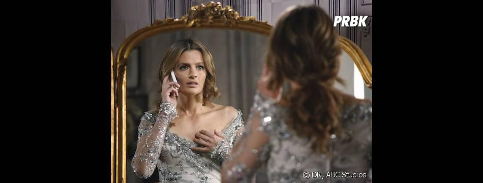 Castle saison 6, épisode 14 : Stana Katic sur une photo