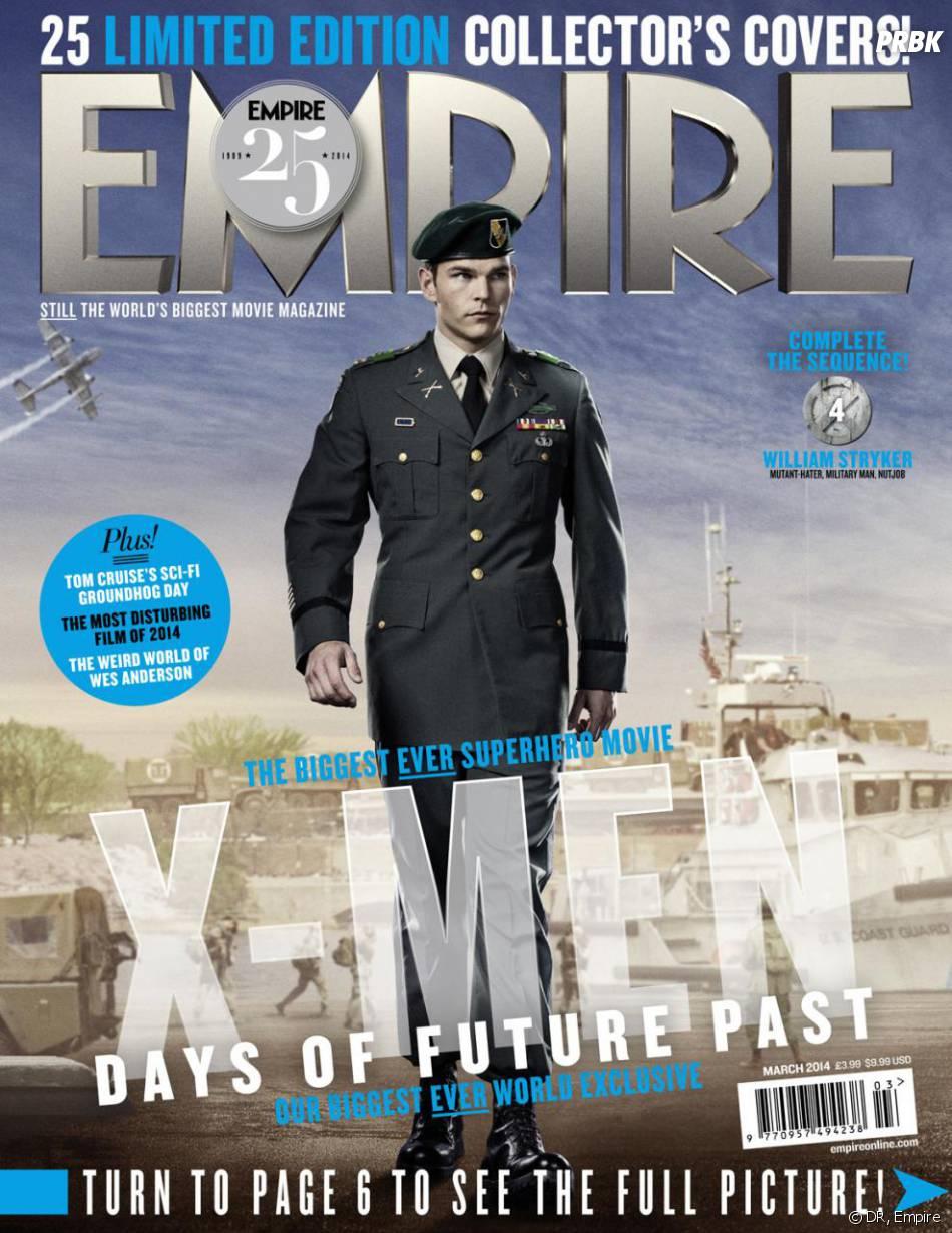 X-Men Days of Future Past : Josh Helman sur la couverture du magazine Empire