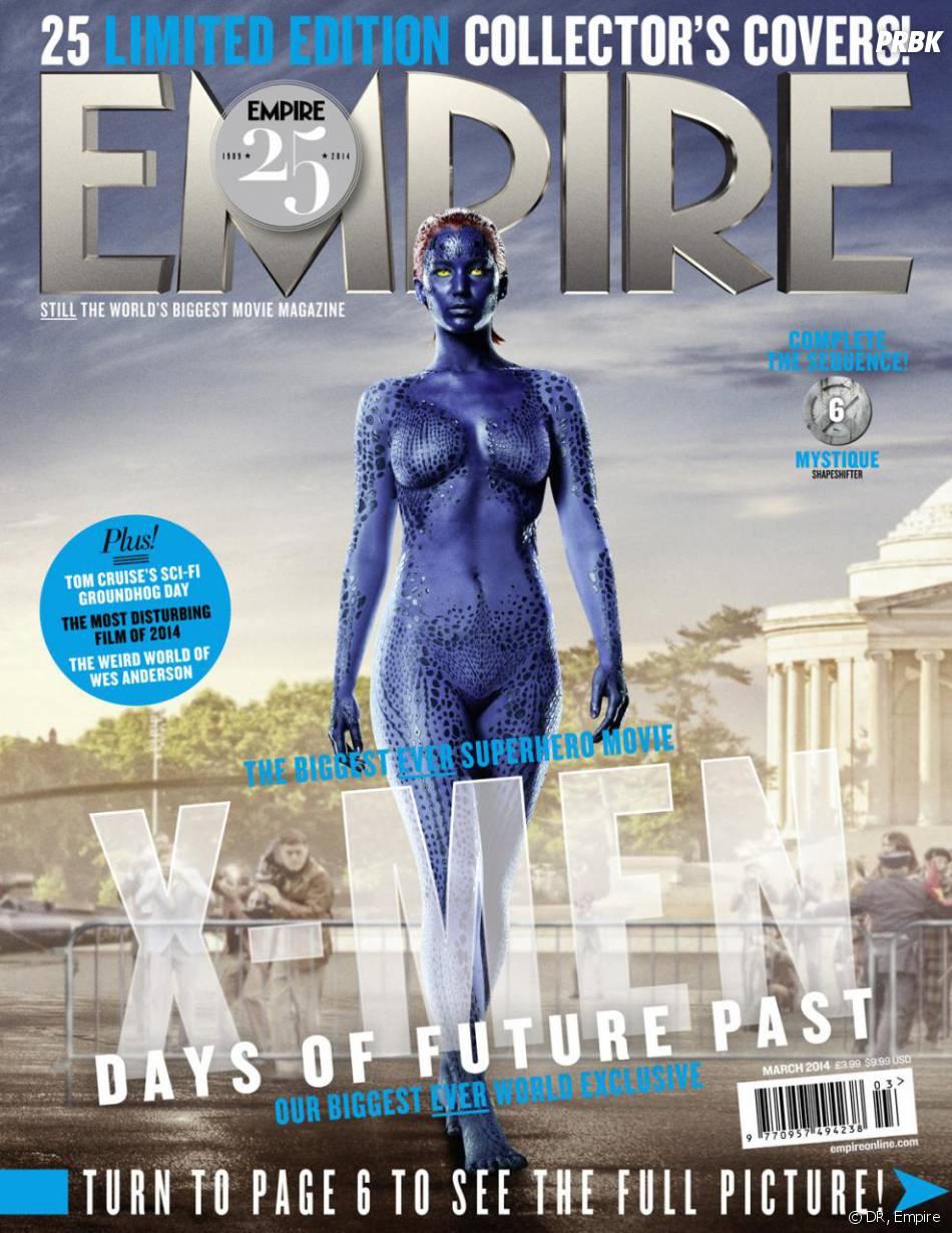 X-Men Days of Future Past : Jennifer Lawrence sur la couverture du magazine Empire