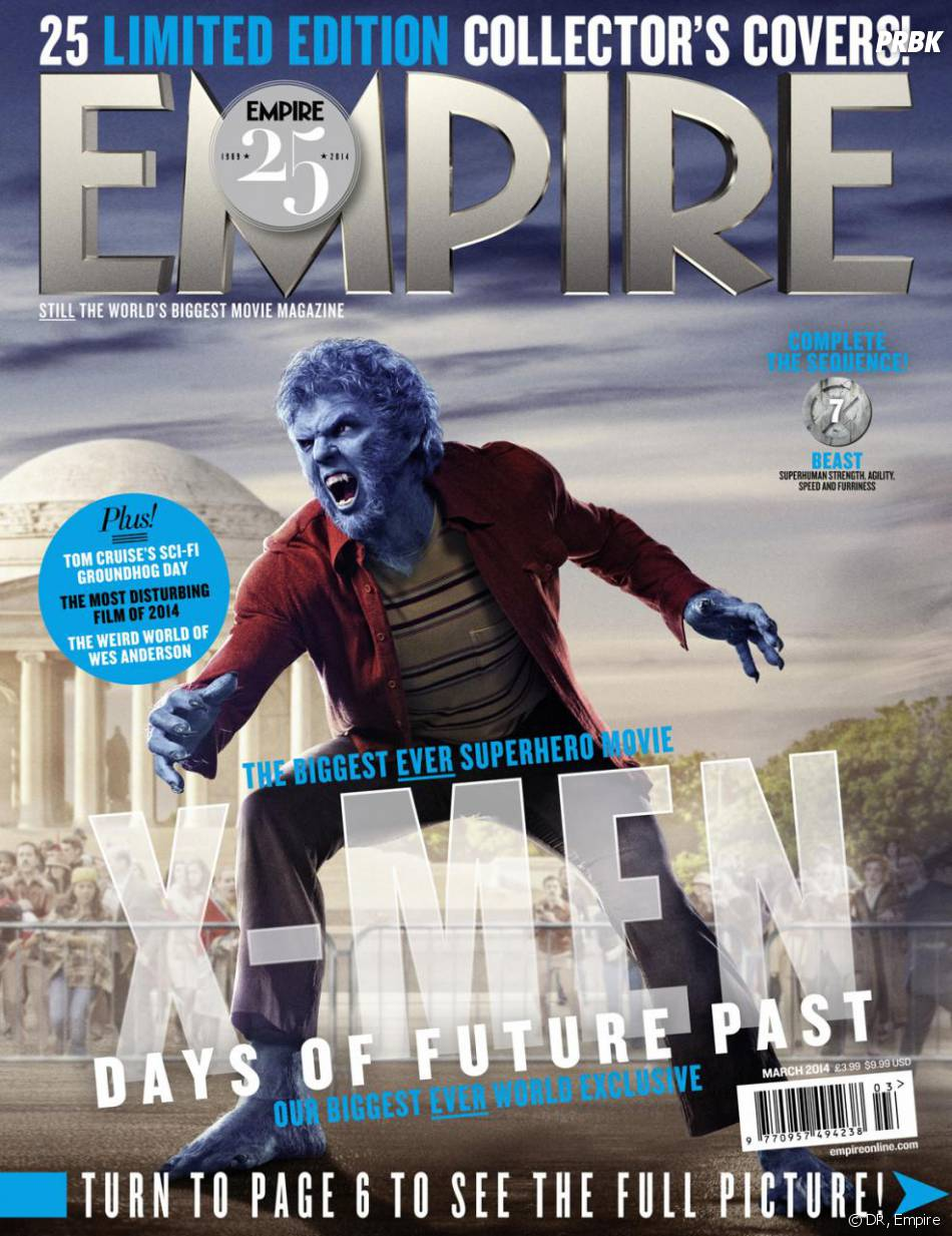 X-Men Days of Future Past : Nicholas Hoult sur la couverture du magazine Empire