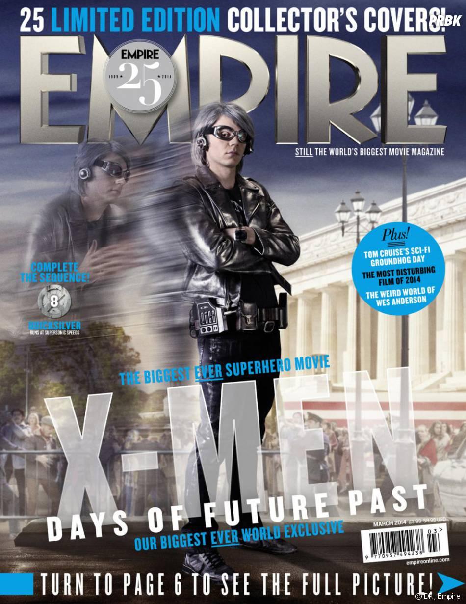 X-Men Days of Future Past : Evan Peters sur la couverture du magazine Empire