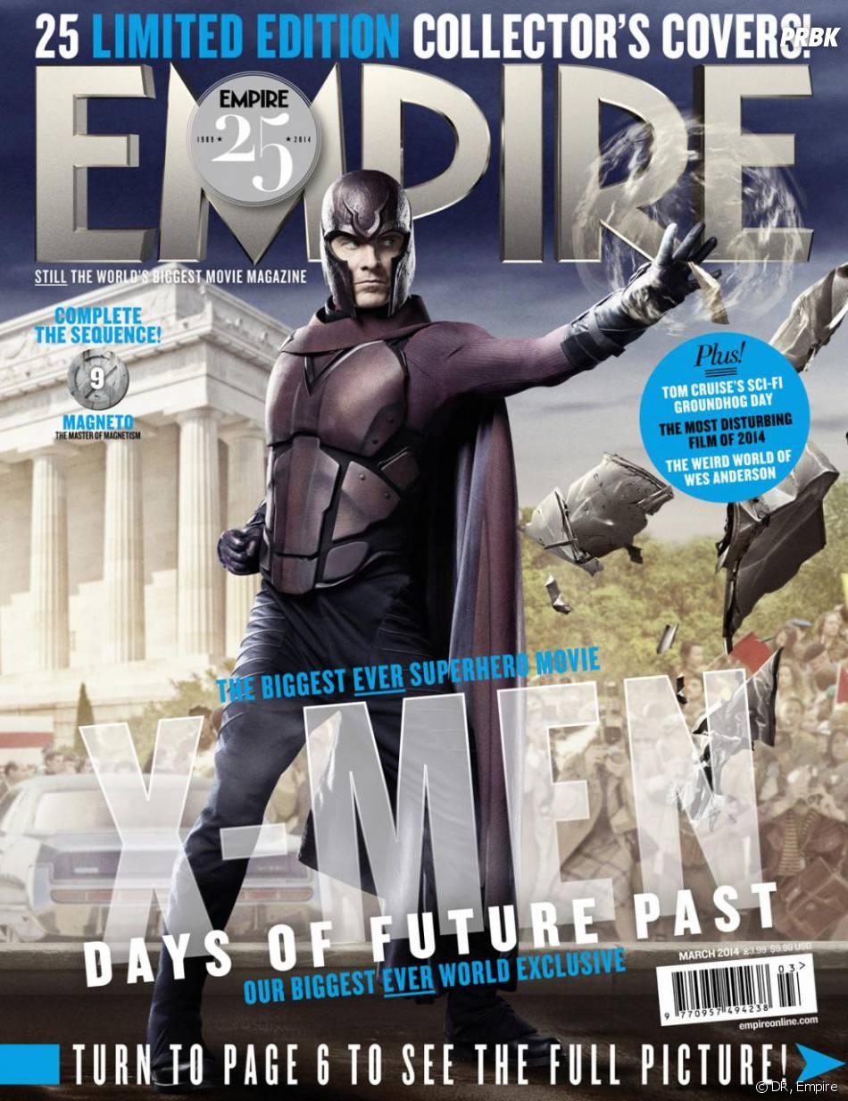 X-Men Days of Future Past : Michael Fassbender sur la couverture du magazine Empire