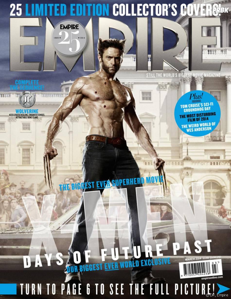 X-Men Days of Future Past : Hugh Jackman sur la couverture du magazine Empire