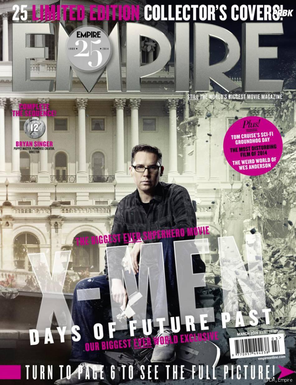 X-Men Days of Future Past : Bryan Singer sur la couverture du magazine Empire