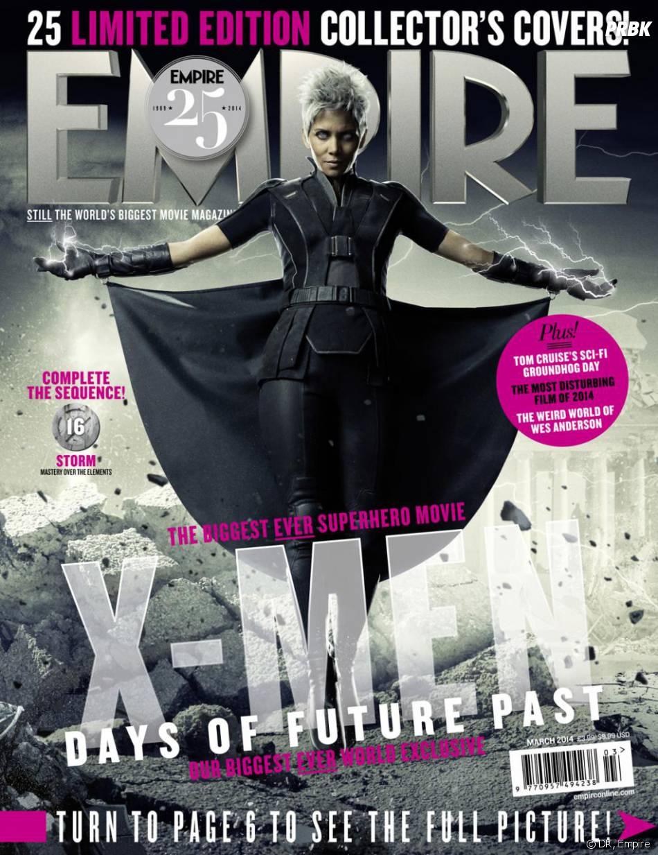 X-Men Days of Future Past : Halle Berry sur la couverture du magazine Empire