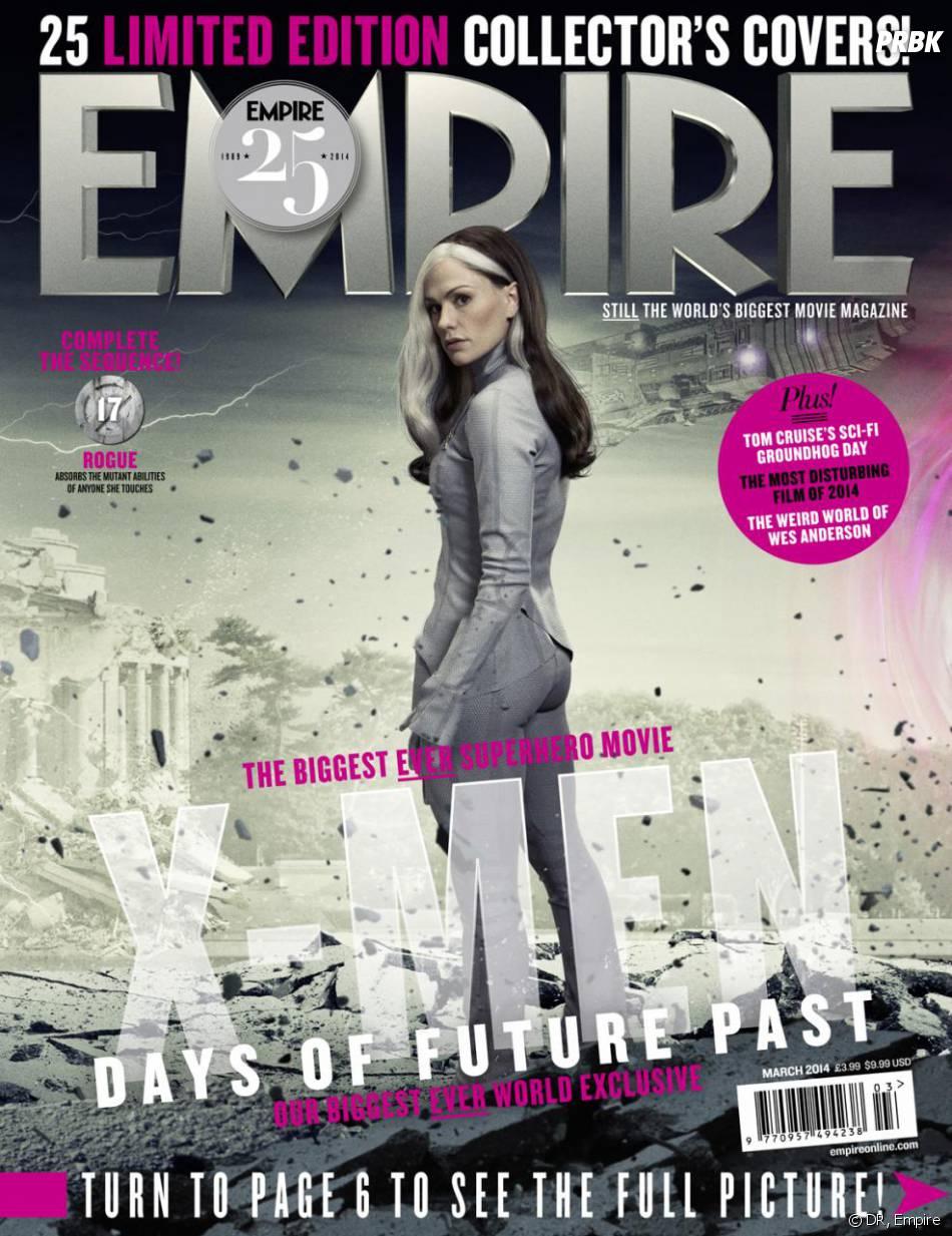 X-Men Days of Future Past : Anna Paquin sur la couverture du magazine Empire