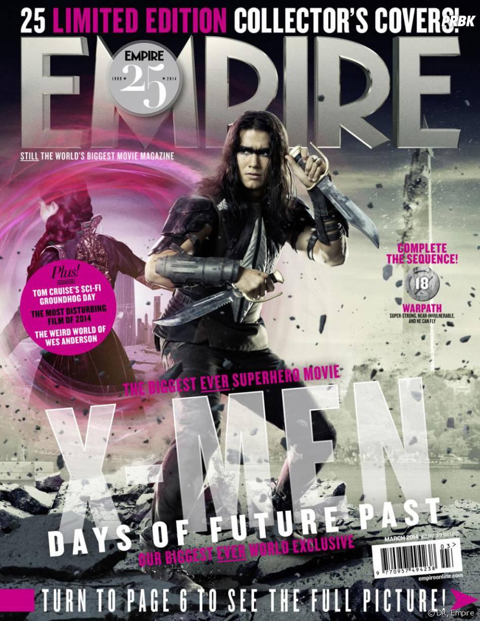 X-Men Days of Future Past : Booboo Stewart sur la couverture du magazine Empire