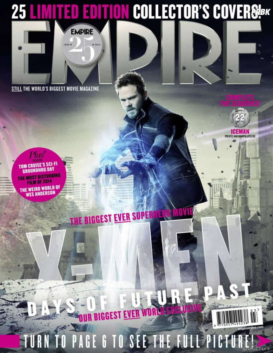 X-Men Days of Future Past : Shawn Ashmore sur la couverture du magazine Empire