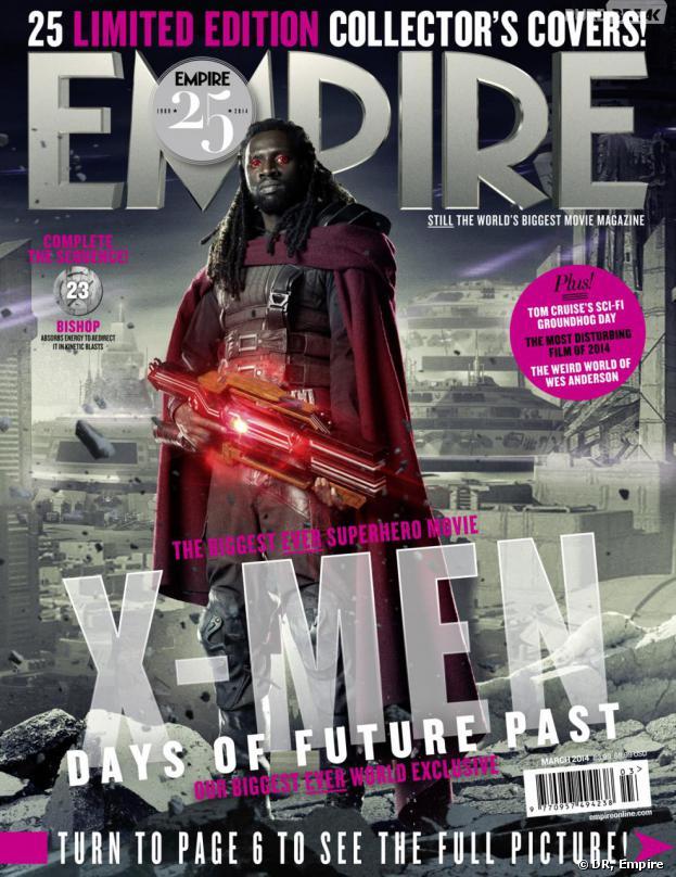 X-Men Days of Future Past : Omar Sy sur la couverture du magazine Empire