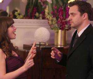 New Girl saison 3, épisode 14 : Zooey Deschanel et Jake Johnson sur une photo