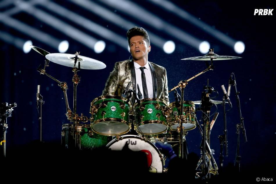 Bruno Mars : chanteur et musicien au Super Bowl 2014le 2 février 2014