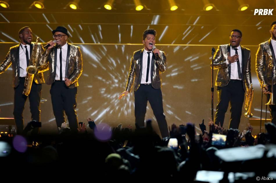 Bruno Mars fait monter la température au Super Bowl 2014le 2 février 2014