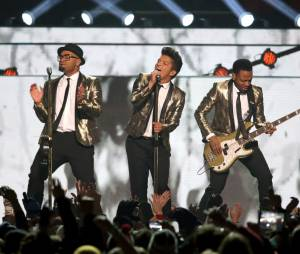 Bruno Mars au Super Bowl 2014le 2 février 2014
