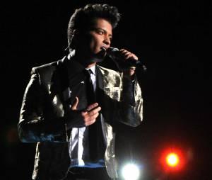 Bruno Mars donne un show de folie au Super Bowl 2014le 2 février 2014