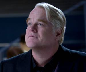 Philip Seymour Hoffman dans Hunger Games : L'embrasement en 2013