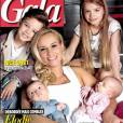 Elodie Gossuin en Une du magazine Gala avec ses enfants
