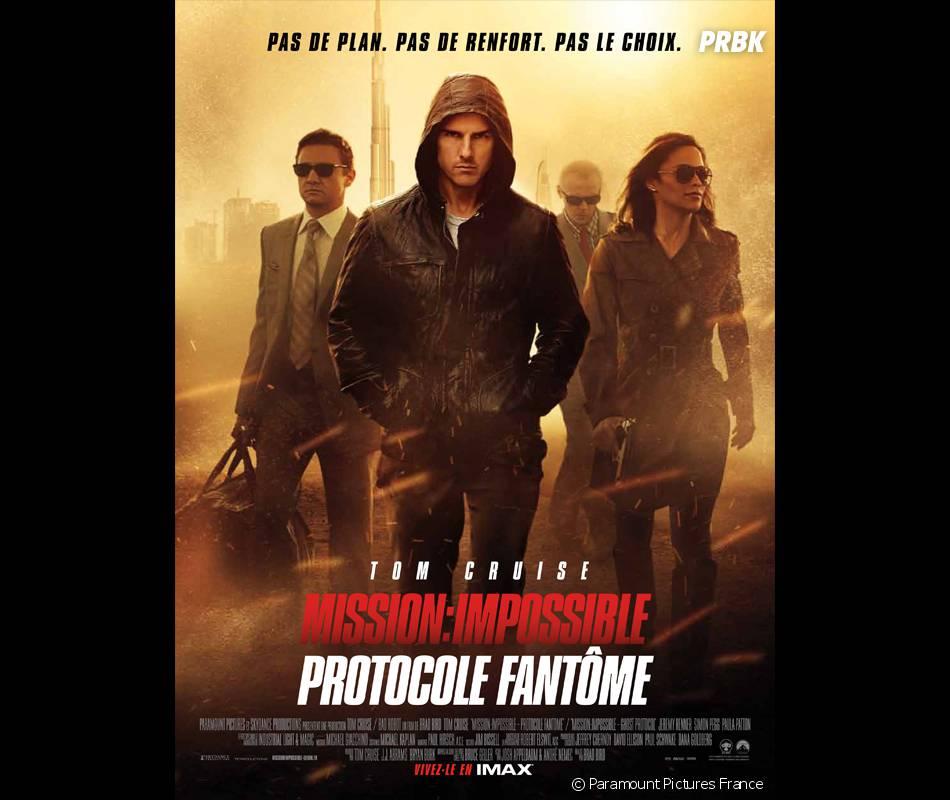Tom Cruise : le scénarion deMission Impossible 4 plagié ?