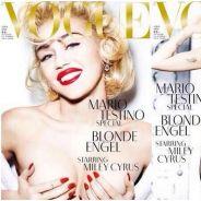 Miley Cyrus topless et sosie de Madonna pour le Vogue allemand