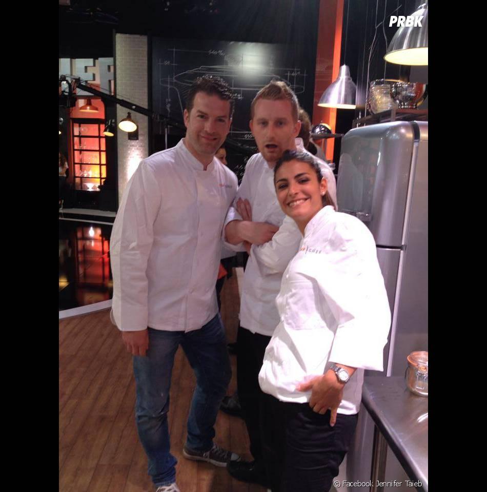 Top Chef 2014 : Jean Eden, Julien et Jennifer Taieb sur le tournage