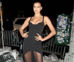 Irina Shayk étaitàla soirée des 50 ans du numéro spécial bikini du magazine Sports Illustrated, le 18 février 2014