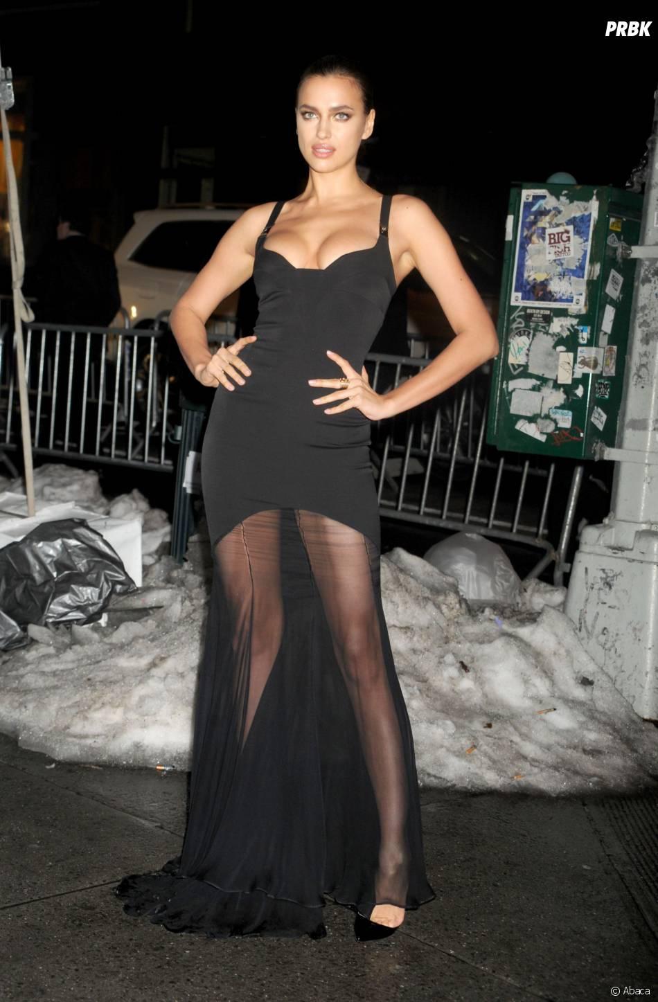 Irina Shayk était àla soirée des 50 ans du numéro spécial bikini du magazine Sports Illustrated, le 18 février 2014
