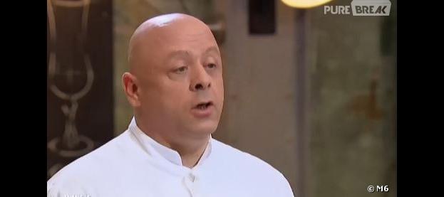 Top Chef 2014 : Thierry Marx énervé contre Jean-Edern, le 10 février 2014 sur M6
