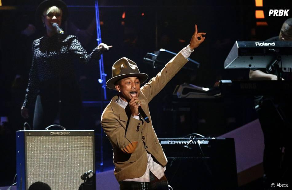 Pharrell Williams : il vend son chapeau des Grammys aux enchères